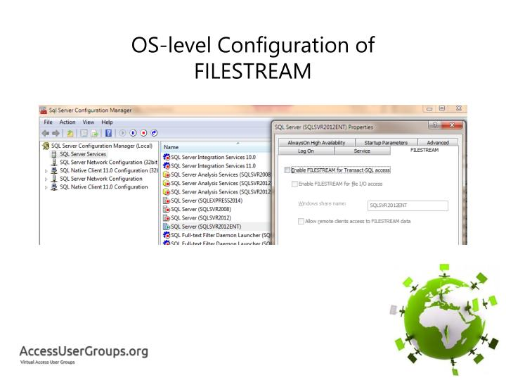 OS-level Configuration of