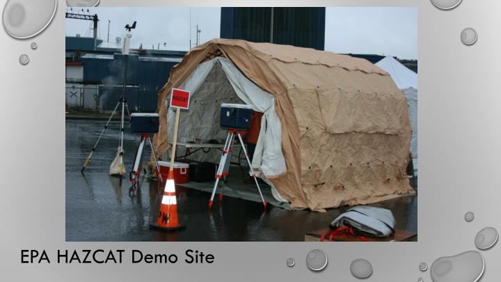 EPA HAZCAT Demo Site