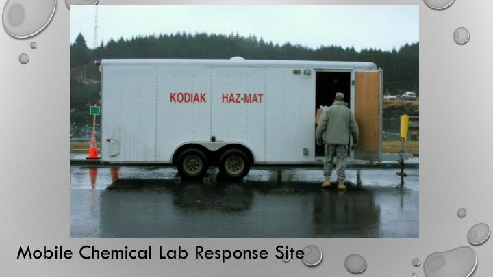 Mobile Chemical Lab Response Site
