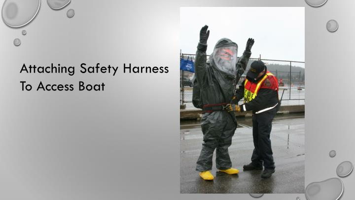 Attaching Safety Harness
