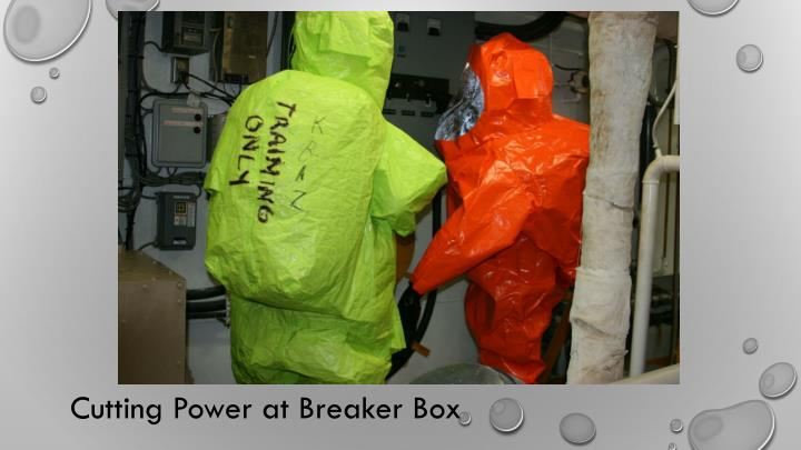 Cutting Power at Breaker Box