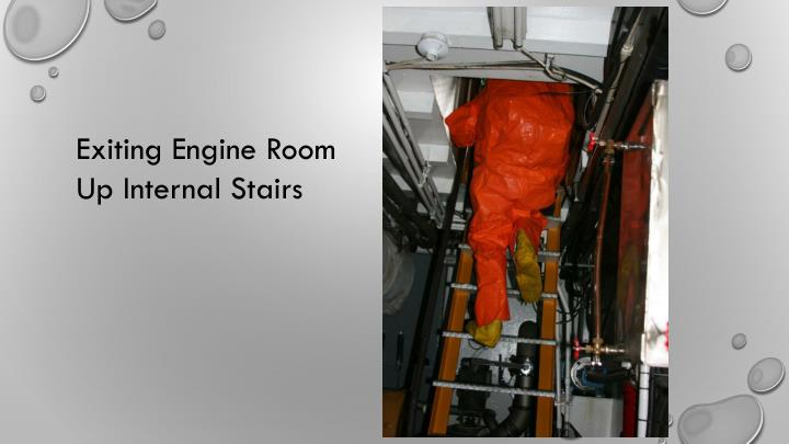 Exiting Engine Room