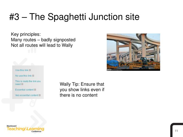 #3 – The Spaghetti Junction site