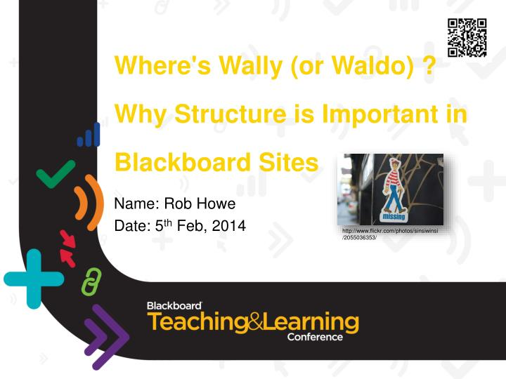 Where s wally or waldo why structure is important in blackboard sites