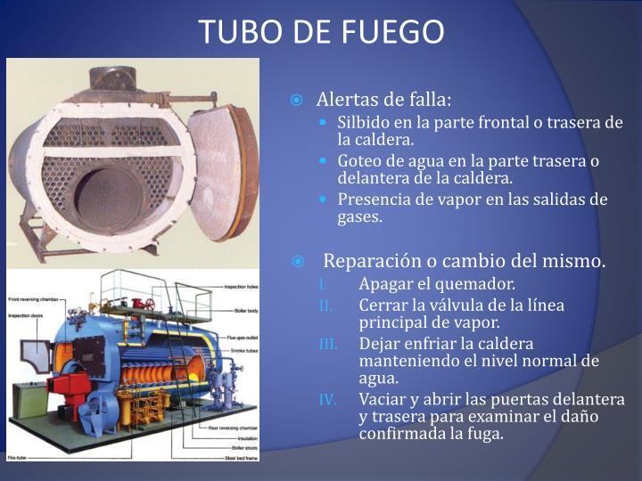 TUBO DE FUEGO