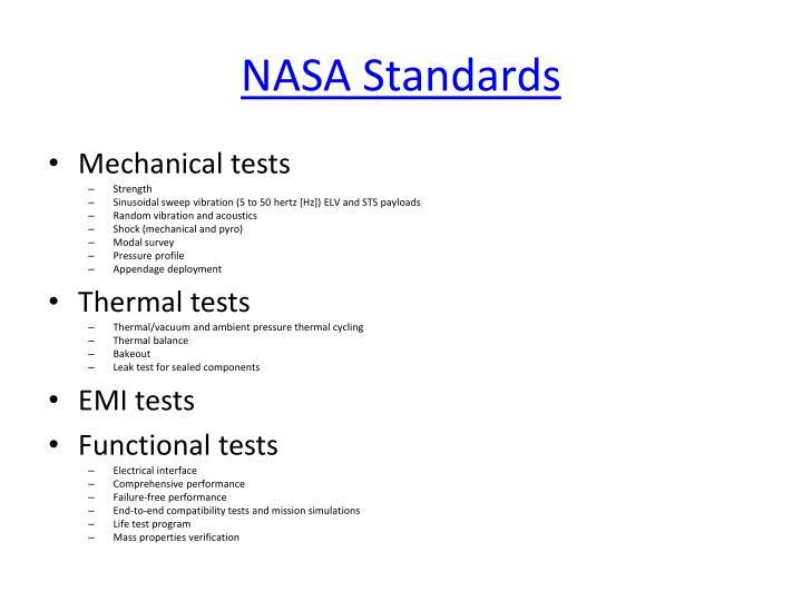 NASA Standards