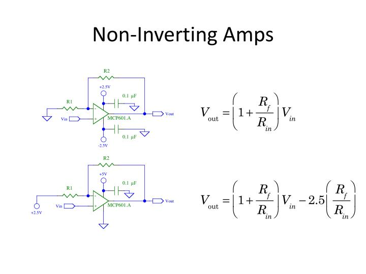 Non-Inverting Amps