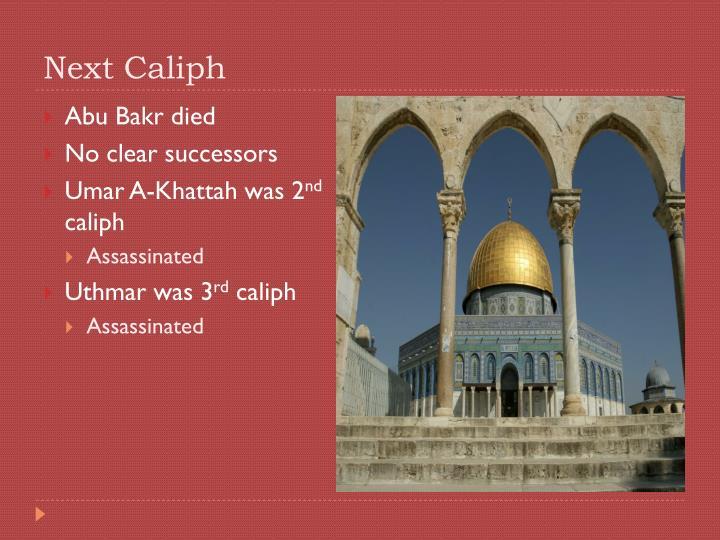 Next Caliph