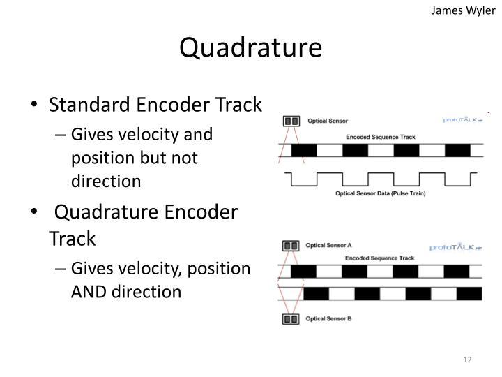 Standard Encoder Track