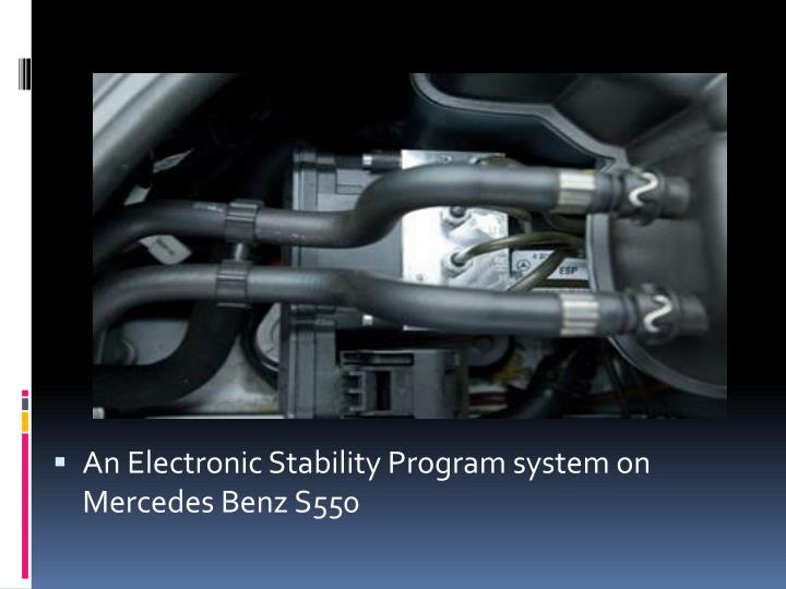 An Electronic Stability