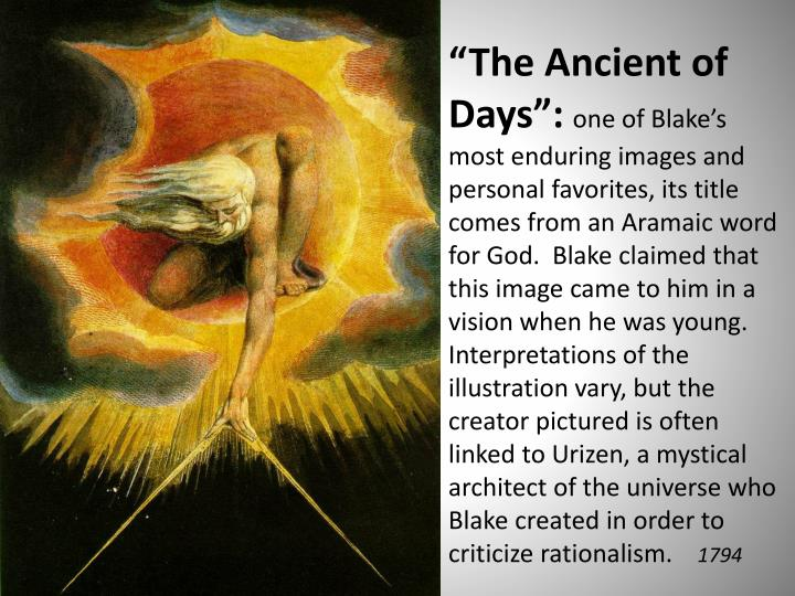 """The Ancient of Days"":"