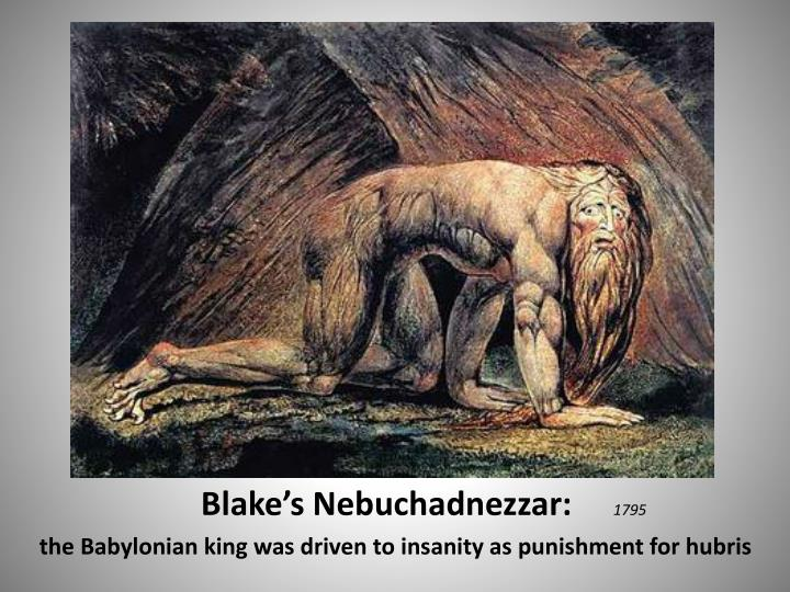 Blake's Nebuchadnezzar: