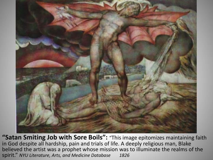 """Satan Smiting Job with Sore Boils"":"