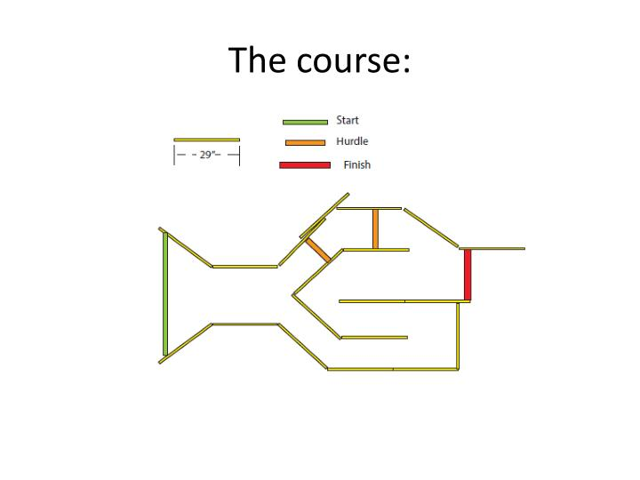 The course: