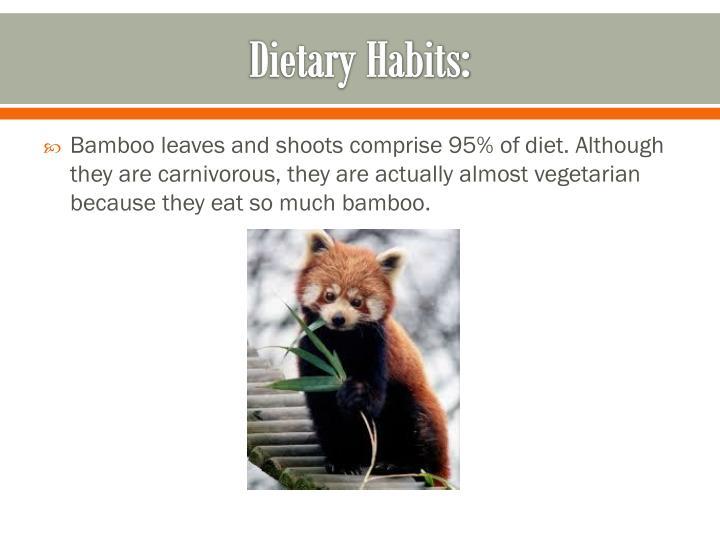 Dietary Habits: