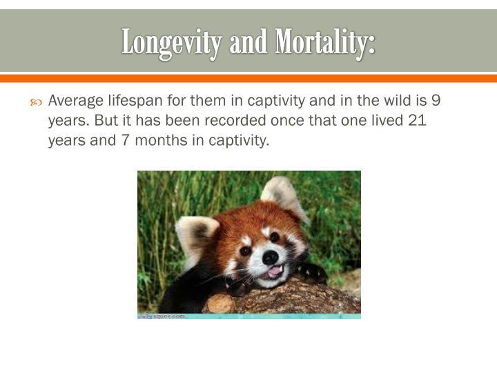 Longevity and Mortality: