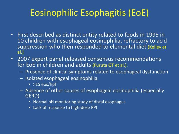 Eosinophilic Esophagitis (EoE)