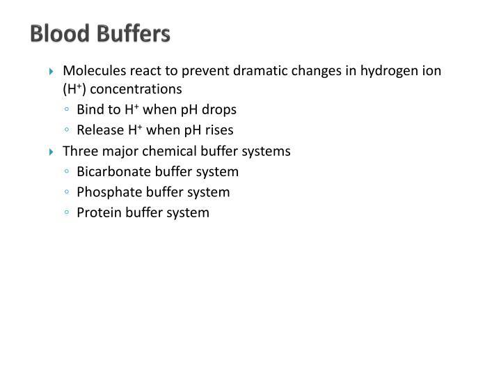 Blood Buffers