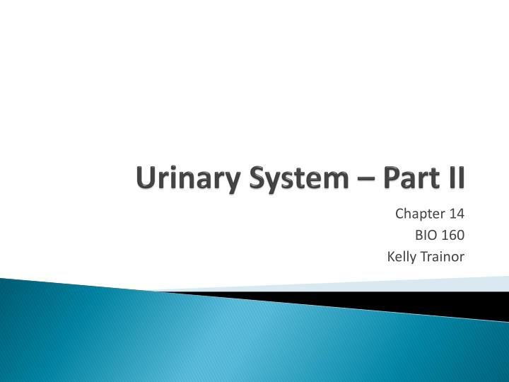 Urinary