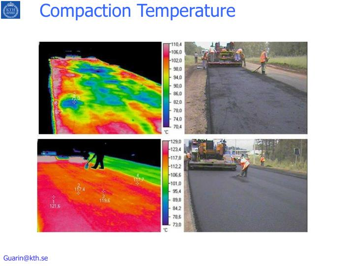 Compaction Temperature