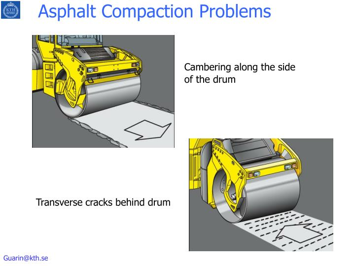 Asphalt Compaction Problems