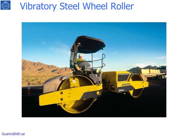 Vibratory Steel Wheel Roller