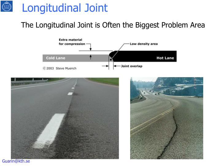 Longitudinal Joint