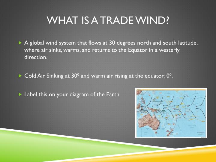 What is a trade wind?