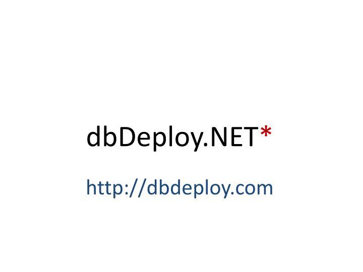 dbDeploy.NET