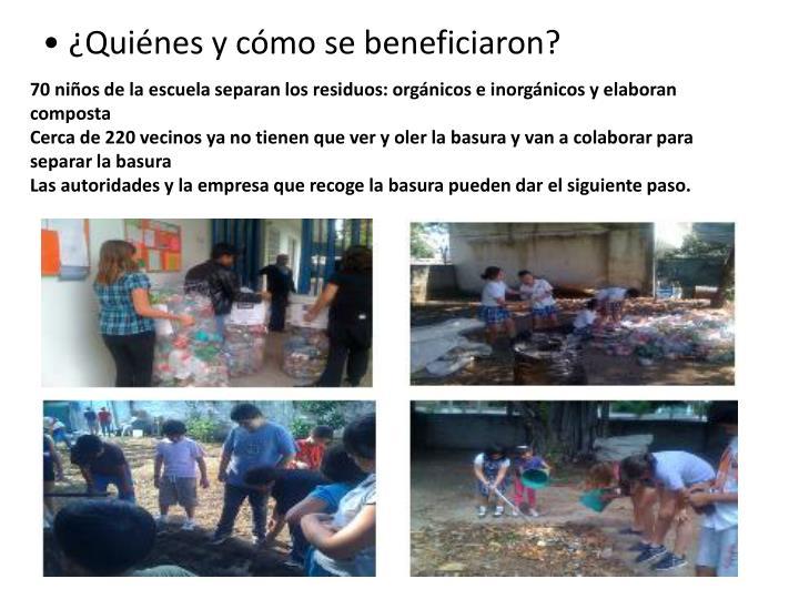 70 niños de la escuela separan los residuos: orgánicos e inorgánicos y elaboran composta
