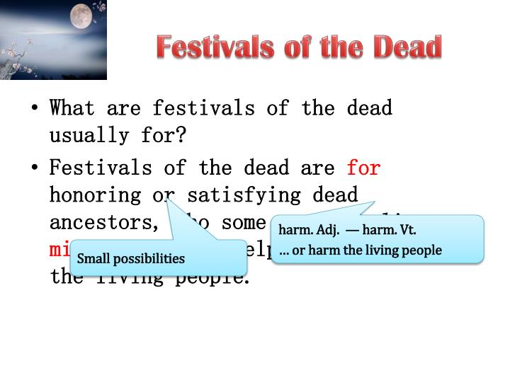 Festivals of the Dead