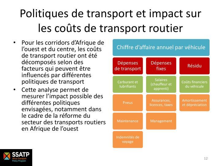 Politiques de transport et