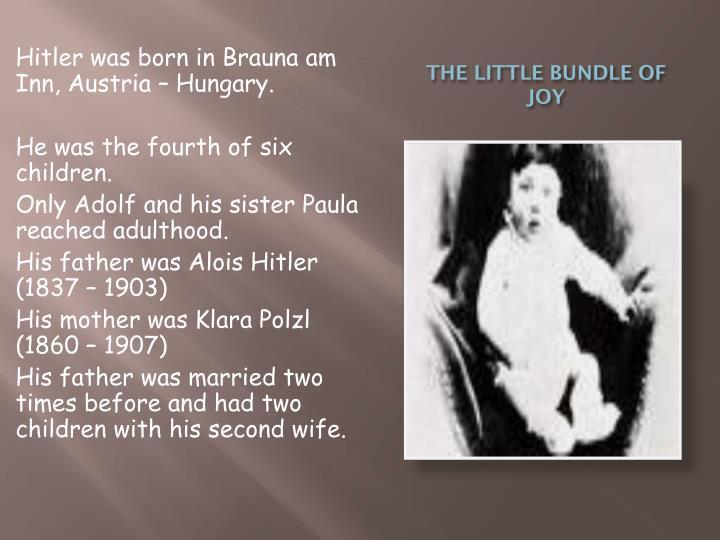 THE LITTLE BUNDLE OF JOY