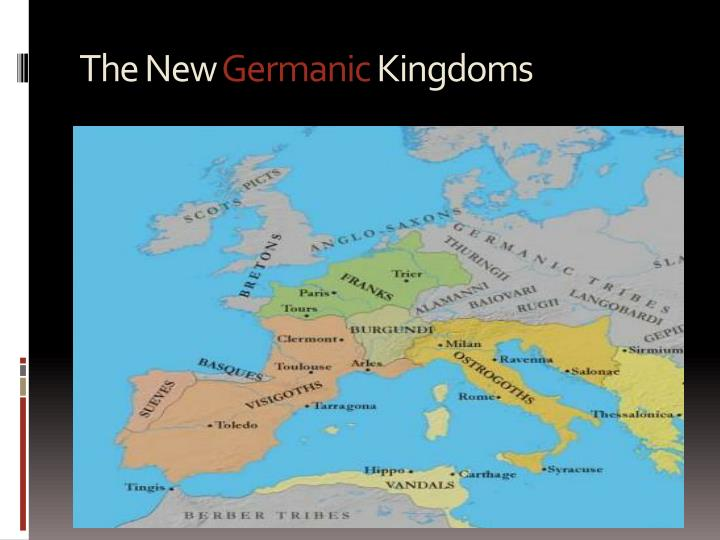 The new germanic kingdoms1