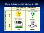 matriz de crecimiento participaci n bcg