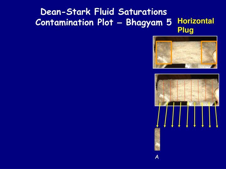 Dean-Stark Fluid Saturations