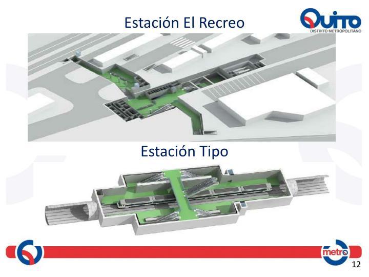 Estación El Recreo