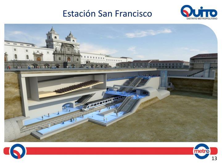 Estación San Francisco
