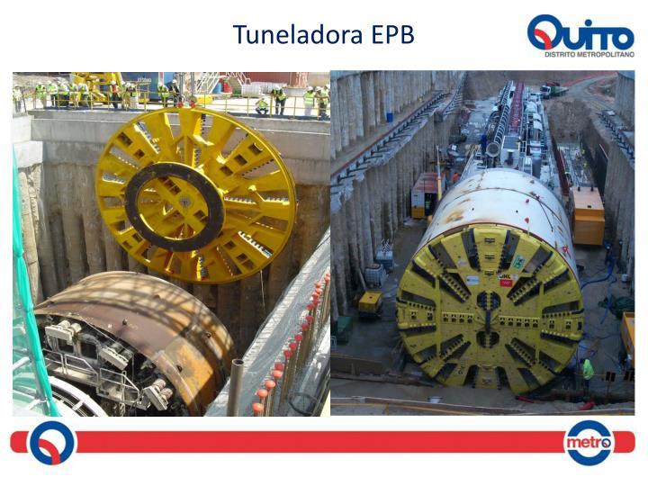 Tuneladora EPB