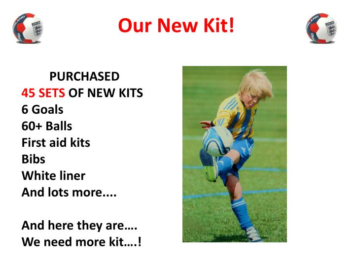 Our New Kit!