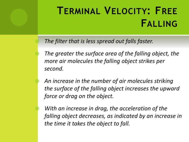 Terminal Velocity: Free Falling