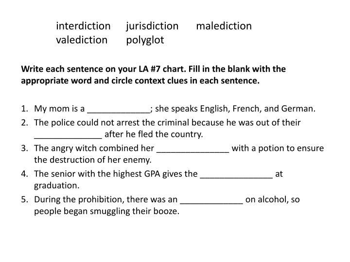 interdictionjurisdictionmalediction