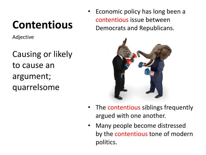 Contentious