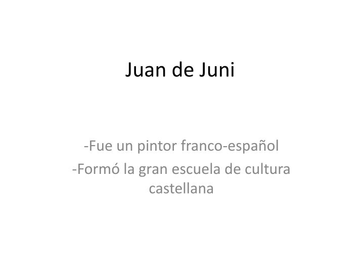 Juan de