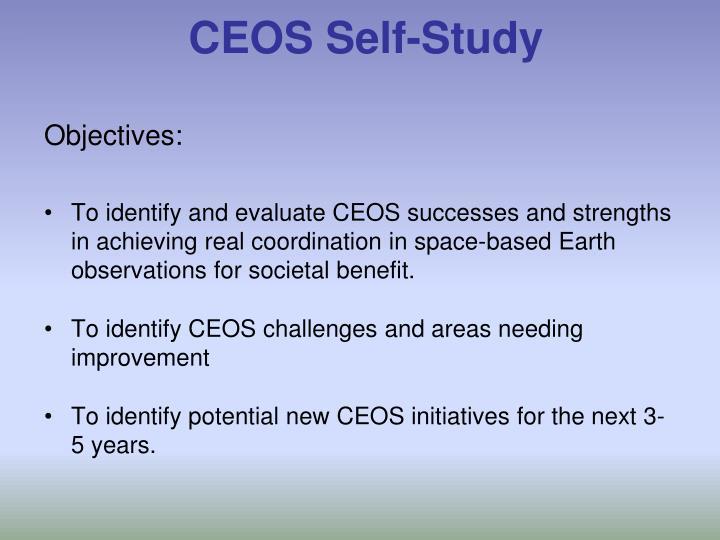 CEOS Self-Study