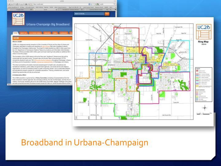 Broadband in Urbana-Champaign