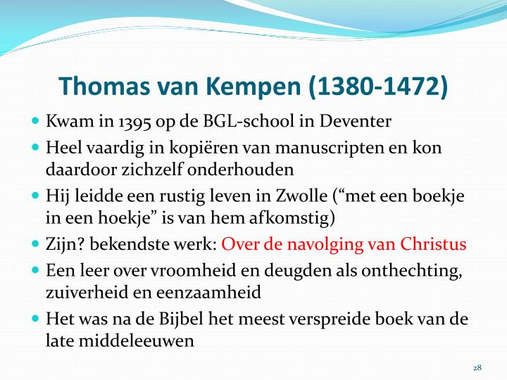 Thomas van