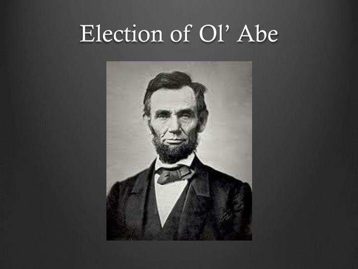 Election of