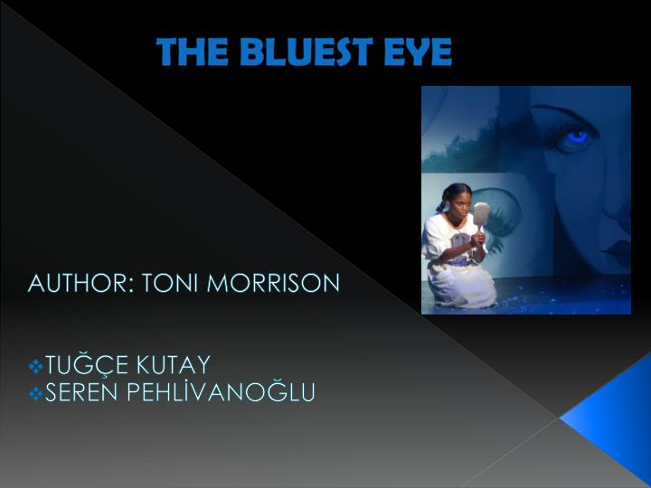 morrisons bluest eye essay migration Toni morrison's the bluest eye: racial and social-cultural problems dealing with the lost identity of young african american women.