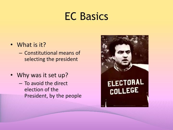 EC Basics